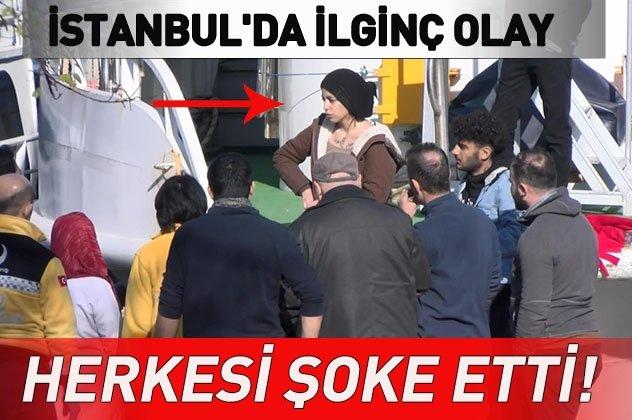 İstanbul'da akılalmaz olay! Genç kız herkesi şoke etti...