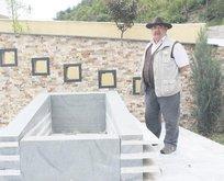 Mezarını yaptıran oyuncu öldü