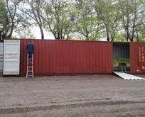 Bu konteyner çok farklı!