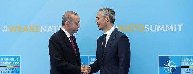 Başkan Erdoğan'ın da katıldığı NATO zirvesinden ilk kareler