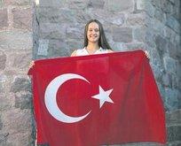 Victoria Zeynep Güneş 200 metrede 6'ncı oldu
