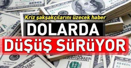 Dolarda düşüş sürüyor! Bugün dolar ne kadar? Dolarda son durum ne?