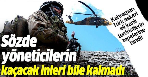 PKK'nın sözde yöneticilerine büyük şok! Kaçacak delik arıyorlar!