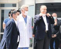 Başkan Cengiz'e mide ameliyatı