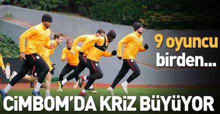 Galatasarayda sakatlar can sıkıyor