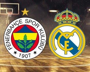 Fenerbahçe Beko-Real Madrid maçı hangi kanalda?