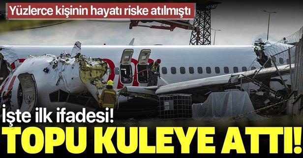 Yardımcı pilotun ifadeleri ortaya çıktı