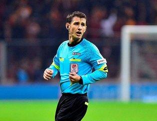 Trabzonspor - Fenerbahçe derbisinin hakemi Halil Umut Meler oldu