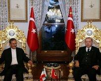 Erdoğan, o isimleri Mabeyn Köşkünde kabul etti
