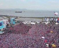 AK Partinin 'Büyük İstanbul Mitingi' için milyonlar Yenikapıda!