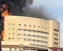 Mısır'da yangın: 7 hasta öldü