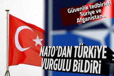 NATO Liderler Zirvesi sona erdi! 'Türkiye' vurgulu bildiri: Güvenlik tedbirleri, Suriye ve Afganistan...