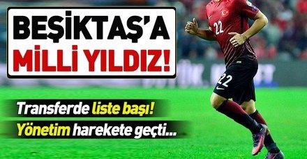 Beşiktaş'tan Kaan Ayhan hamlesi