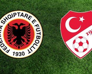 Arnavutluk - Türkiye maçı ne zaman, saat kaçta?
