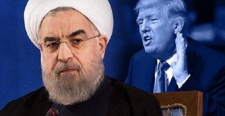 ABD'den flaş İran açıklaması: Trump hiçbir c Ruhani ile görüşmeye hazır