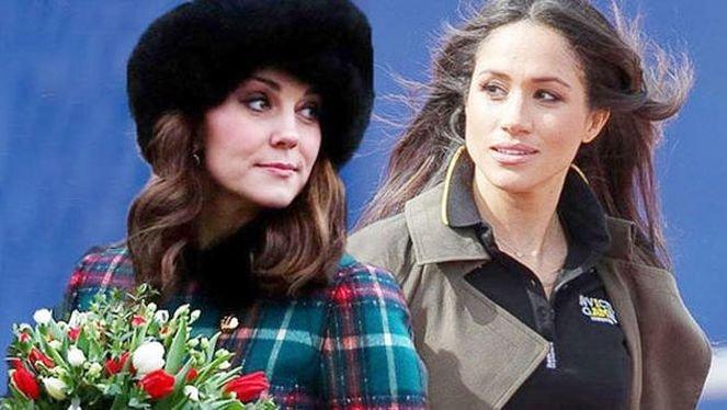 Meghan Markle ve Kate Middletondan elti kavgası