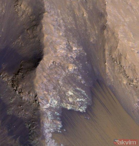 NASA Mars'tan dehşete düşüren görüntüyü ilk kez yayınladı! O kareler kan dondurdu