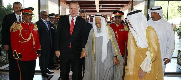 Kuveyt medyasından Erdoğana yoğun ilgi