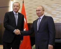 Putin, Erdoğan'ın doğum gününü tebrik etti