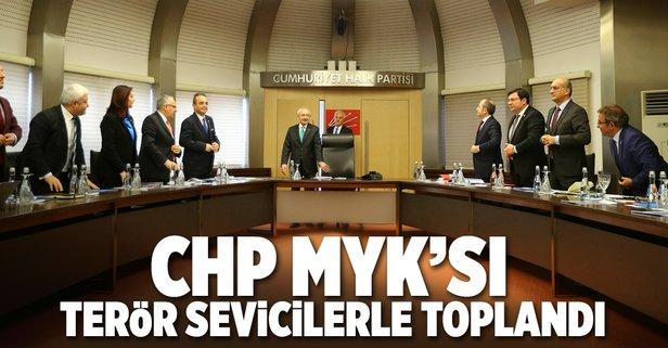 CHPnin MYKsı skandal isimlerle toplandı
