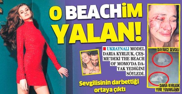 O 'beach'im yalan