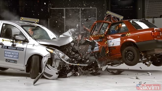 En güvenli ve sağlam otomobiller hangileri? Çarpışma testinde en sağlam çıkan araçlar neler? İşte o liste...