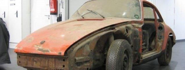 Porsche'yi öyle bir hale getirdi ki... Görenler şaşkına döndü