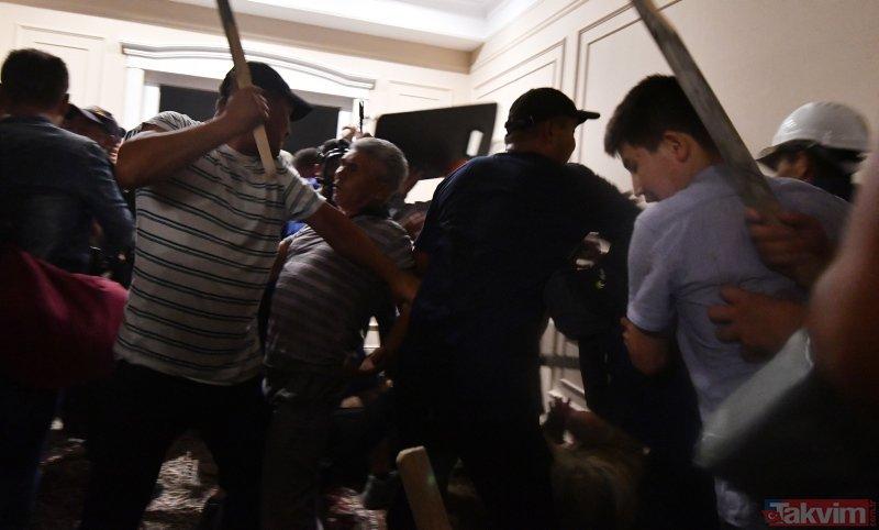 Eski Kırgızistan Cumhurbaşkanı Atambayev'in evine operasyonda 1 polis öldü, 36 kişi yaralandı