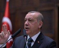 Erdoğandan tüyleri diken diken eden Afrin şiiri!