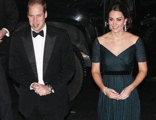 Kate Middleton ve  Prens William 200 yıllık tabuyu devirdi