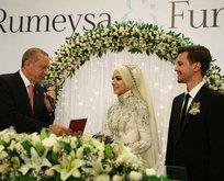 Devletin zirvesi nikahta buluştu