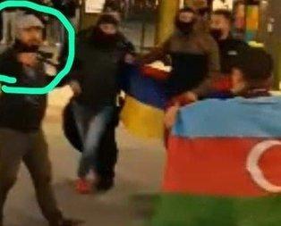 Avrupa da Ermenistan gibi! Azerbaycanlılara silah çektiler!