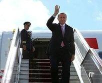 Başkan Erdoğan Türkiye'ye hareket etti