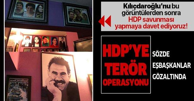 HDP'li eşbaşkanlara gözaltı