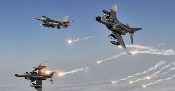 TSKdan Kuzey Iraka hava harekatı