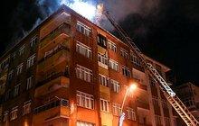 İstanbul'da yangın paniği! Korku dolu anlar