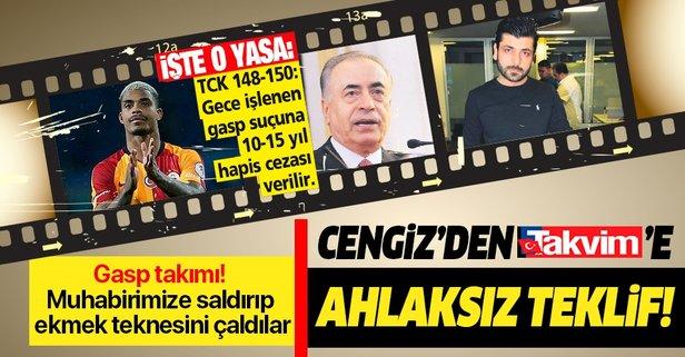 Mustafa Cengiz'den ahlaksız teklif