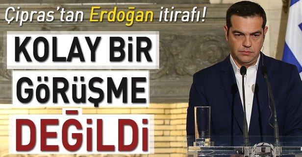 Çipras'tan Erdoğan itirafı!