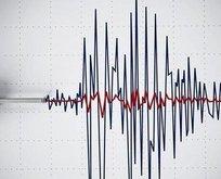 Isparta'da korkutan deprem