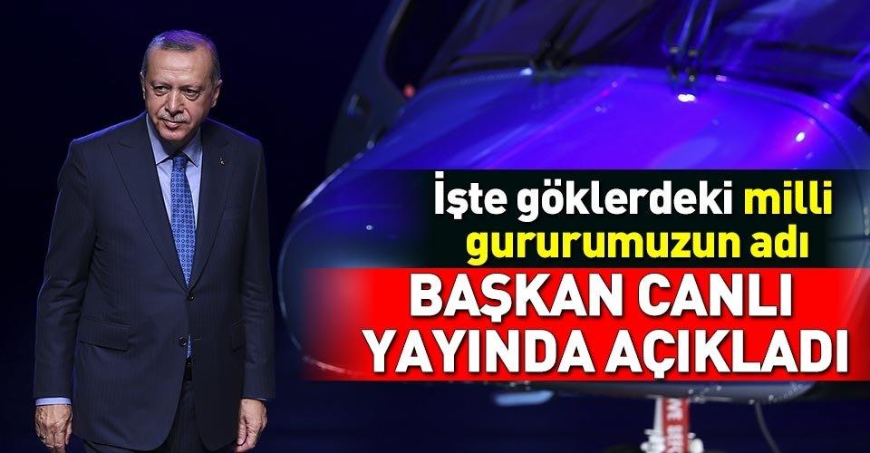 Başkan Erdoğan canlı yayında açıkladı!