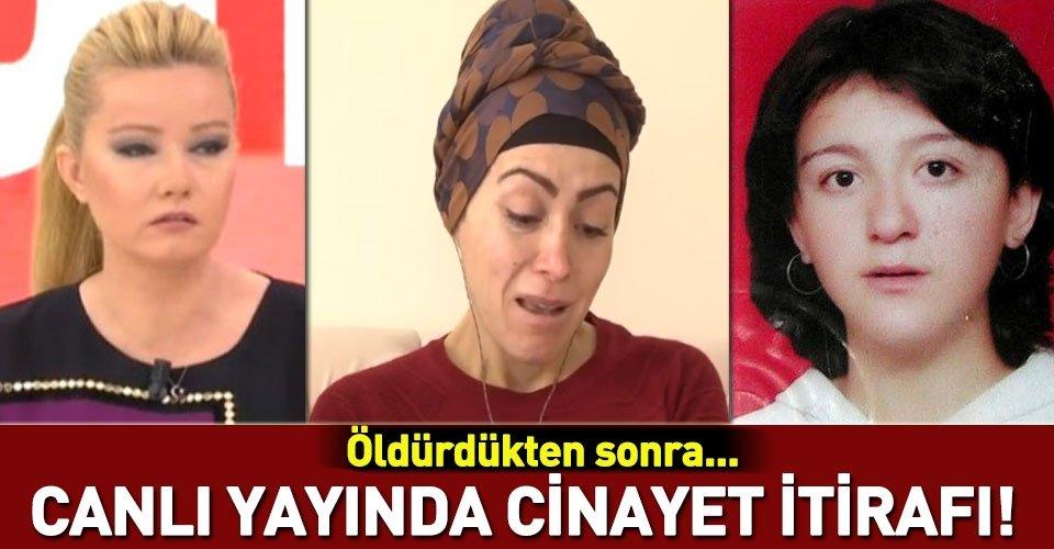 Müge Anlı canlı yayınında cinayet itirafı!