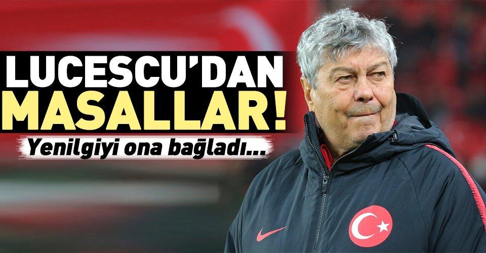 Lucescu'dan masallar!