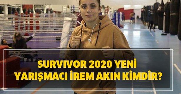 Survivor 2020 yeni yarışmacı İrem Akın kimdir?