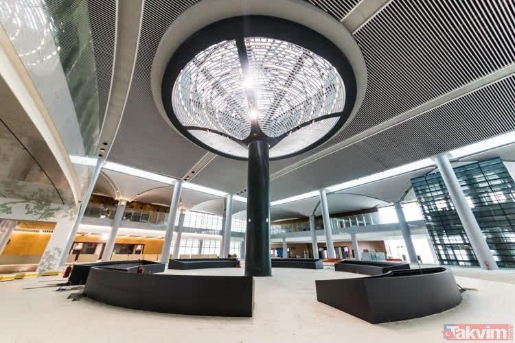 İstanbul Yeni Havalimanı mimarisinden teknolojisineilkleriyle tarihe geçecek