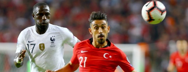 Konya'da Fransa'ya soğuk duş   Türkiye:2 - Fransa:0 Maç sonucu