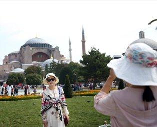 İstanbul turistlerin gözdesi olmaya devam ediyor