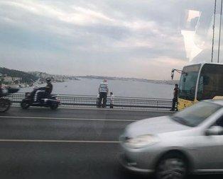 15 Temmuz Köprüsünde intihar girişimi