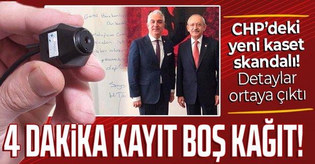 CHP'de yeni kaset skandalı!