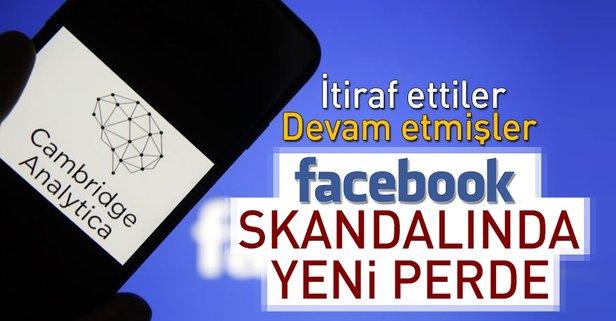Facebook skandalında yeni perde! Bilgi paylaşmaya devam etmişler