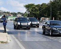 Başkan Erdoğan onları görünce konvoyu durdurdu